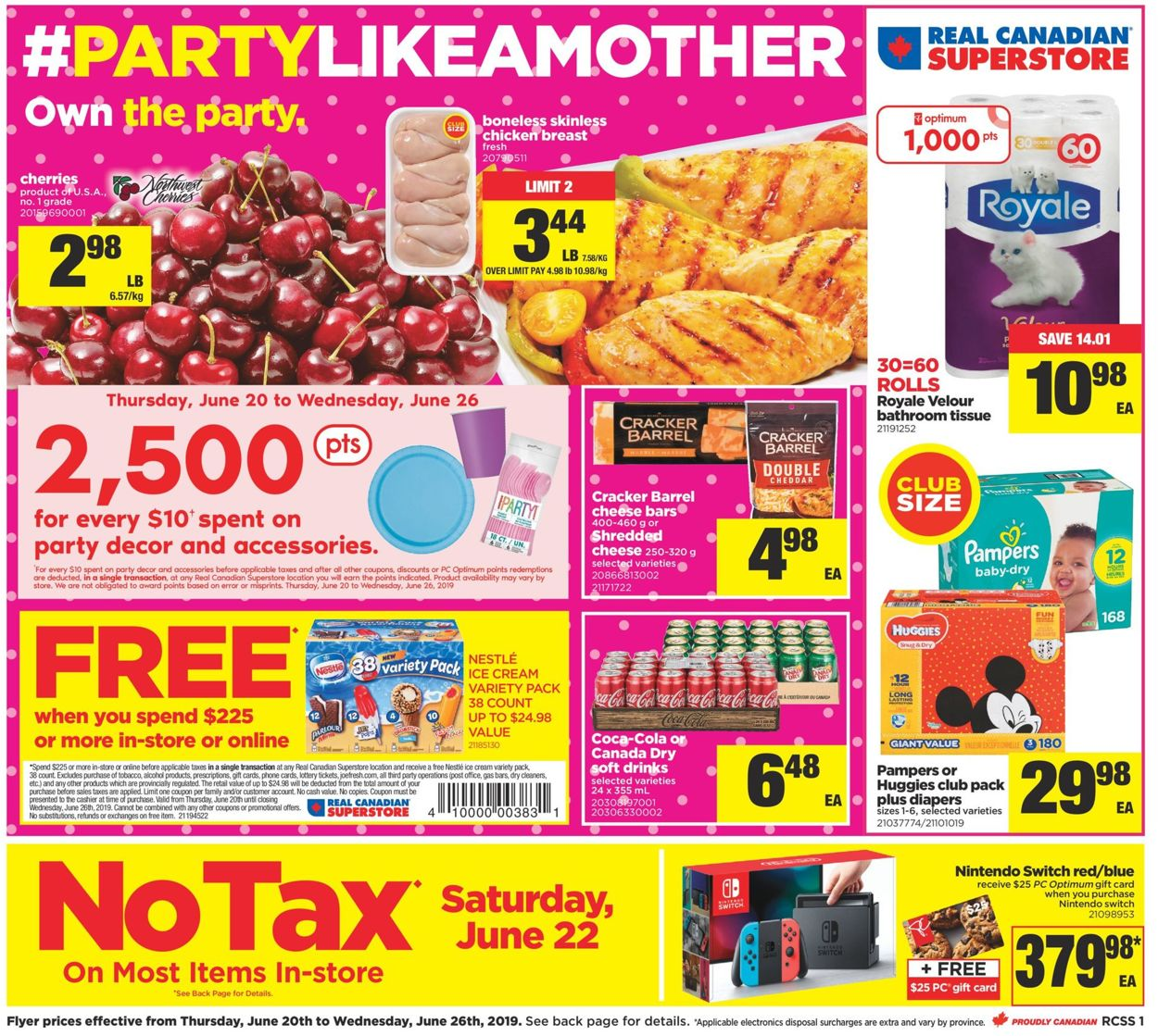 Real Canadian Superstore Flyer - 06/20-06/26/2019