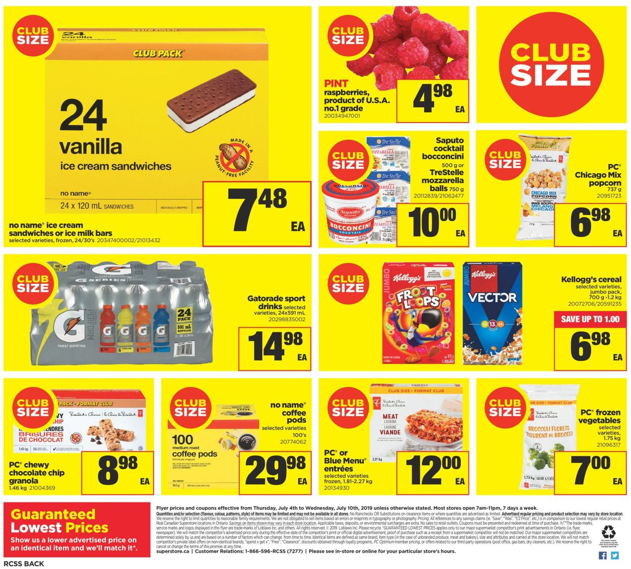 Real Canadian Superstore Flyer - 07/04-07/10/2019 (Page 20)