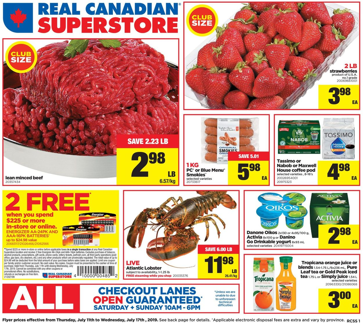 Real Canadian Superstore Flyer - 07/11-07/17/2019