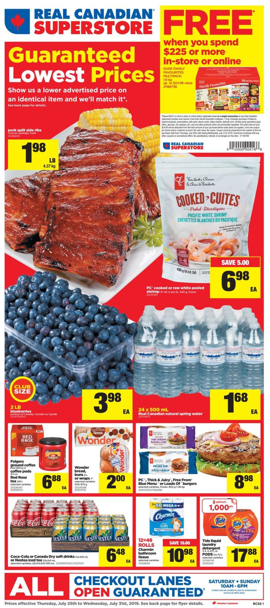 Real Canadian Superstore Flyer - 07/25-07/31/2019