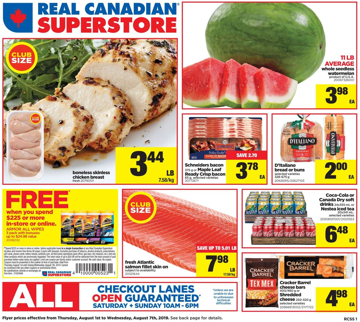 Real Canadian Superstore Flyer - 08/01-08/07/2019