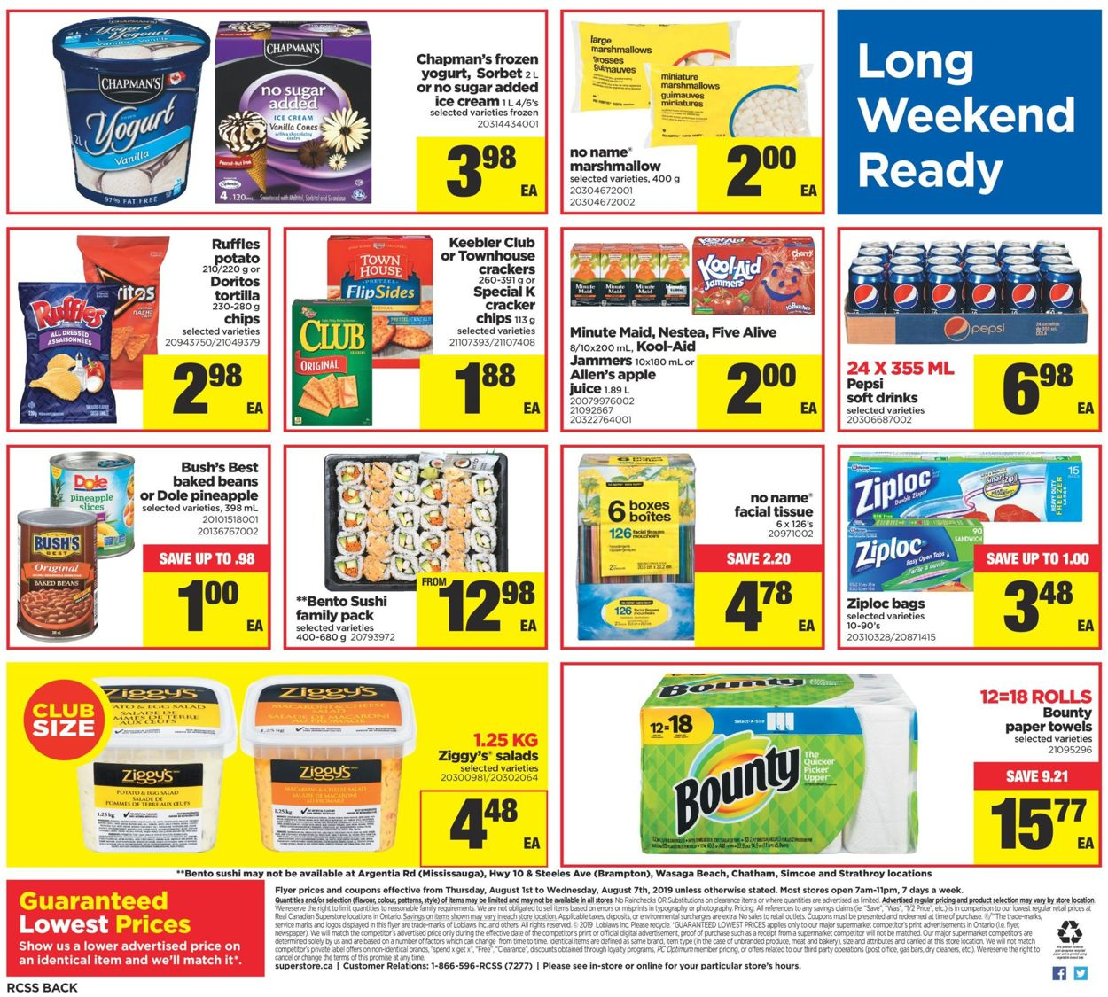 Real Canadian Superstore Flyer - 08/01-08/07/2019 (Page 21)