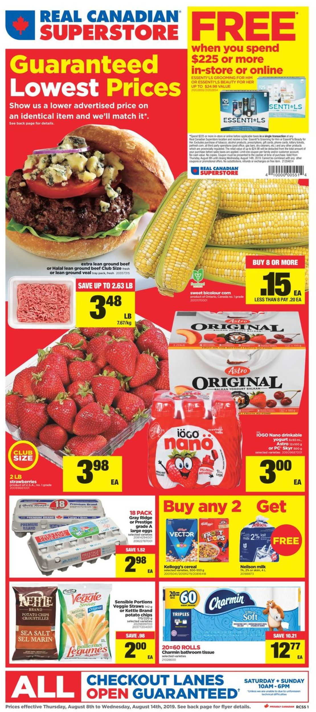 Real Canadian Superstore Flyer - 08/08-08/14/2019