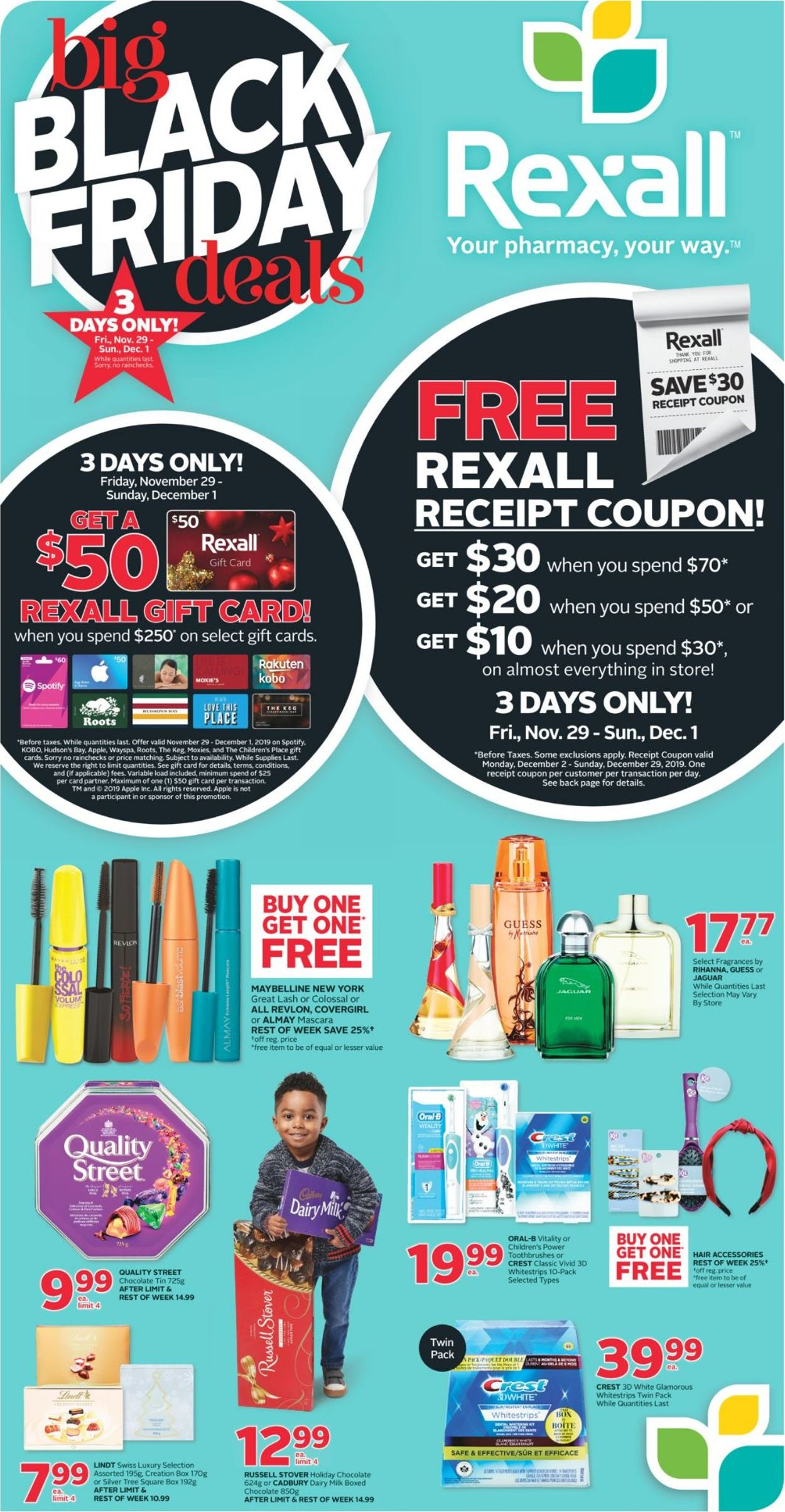 Rexall BLACK FRIDAY 2019 DEALS