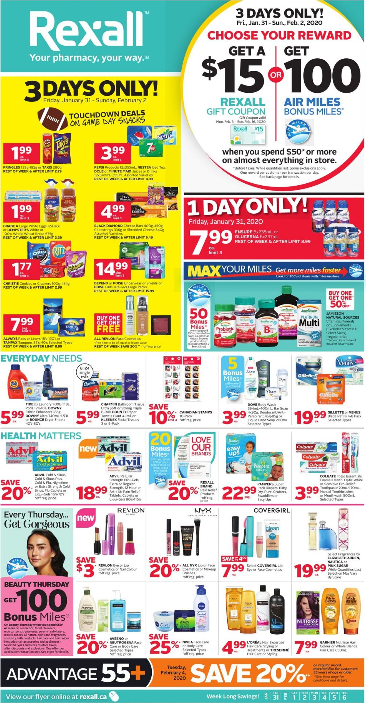 Rexall Flyer - 01/31-02/06/2020