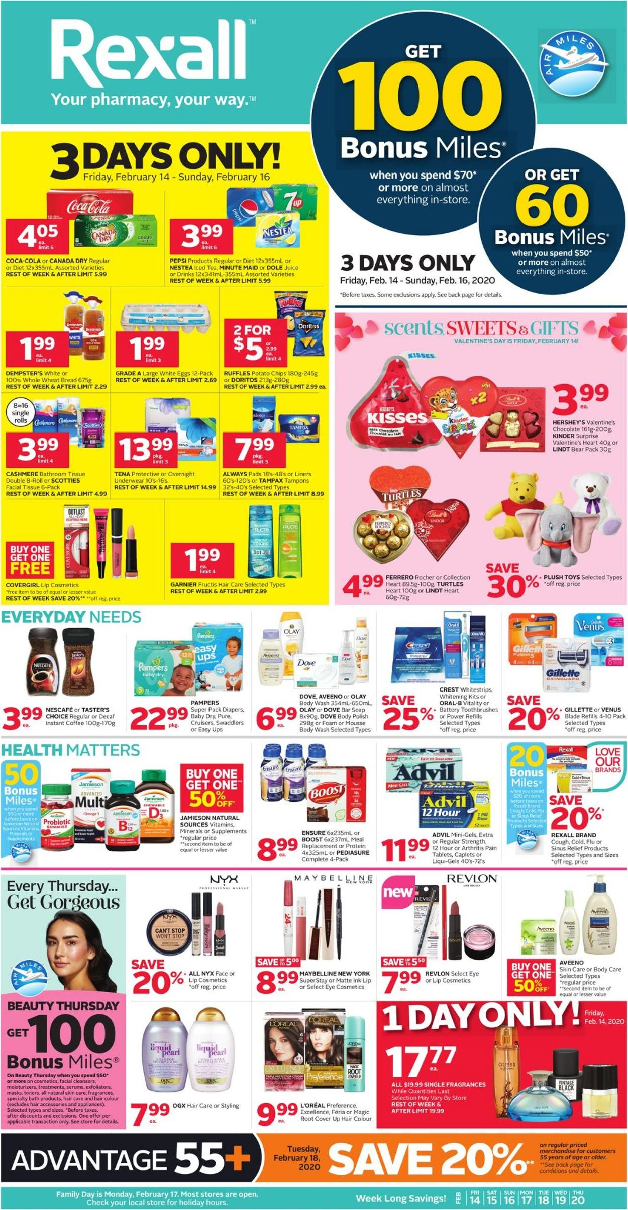 Rexall Flyer - 02/14-02/20/2020