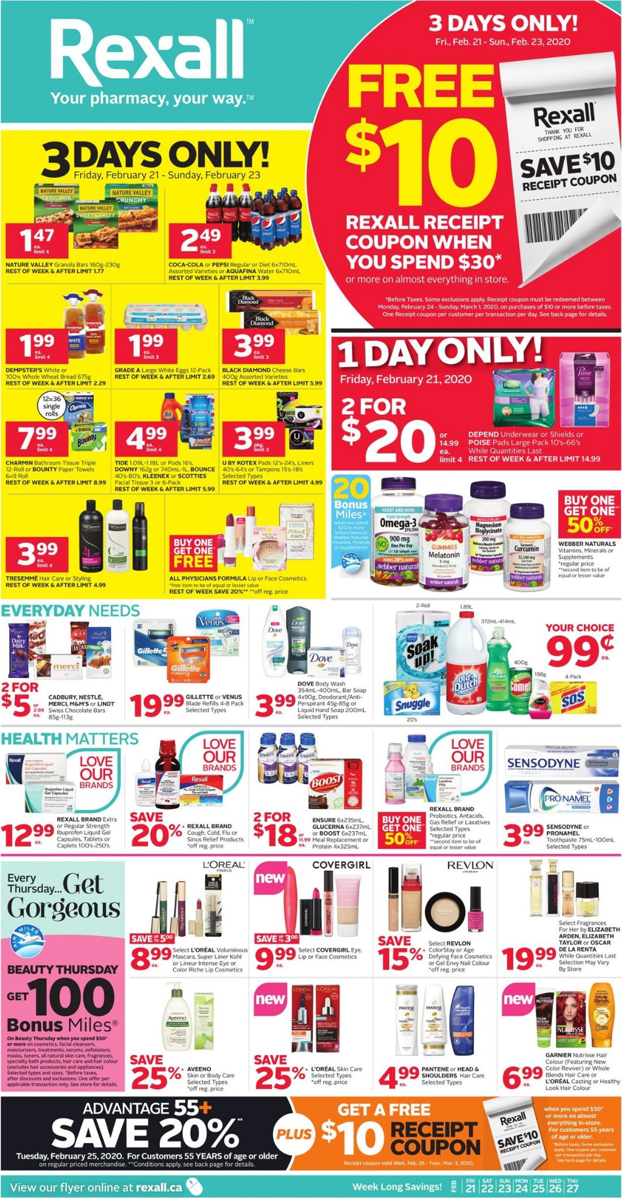 Rexall Flyer - 02/21-02/27/2020