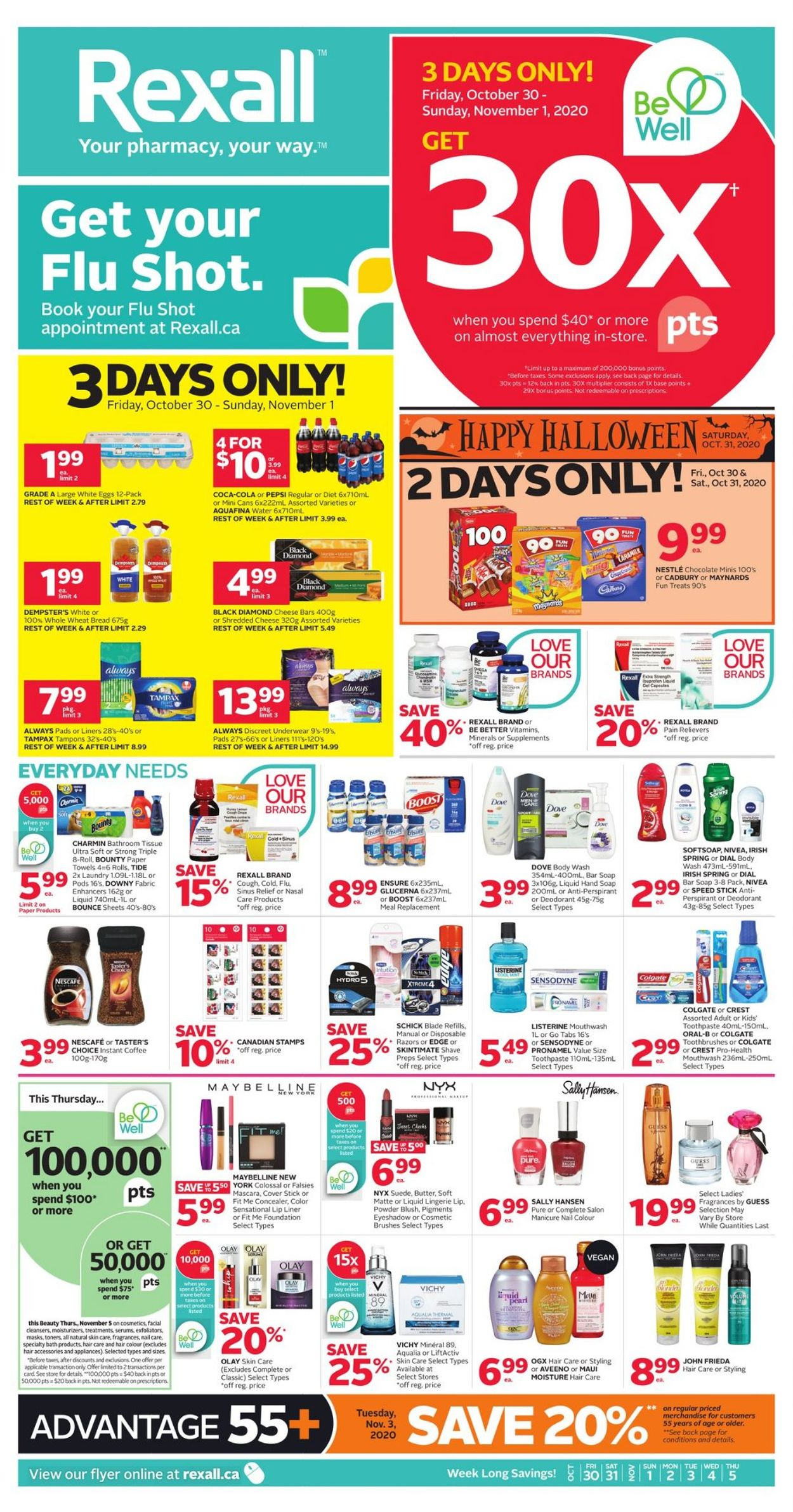 Rexall Flyer - 10/30-11/05/2020