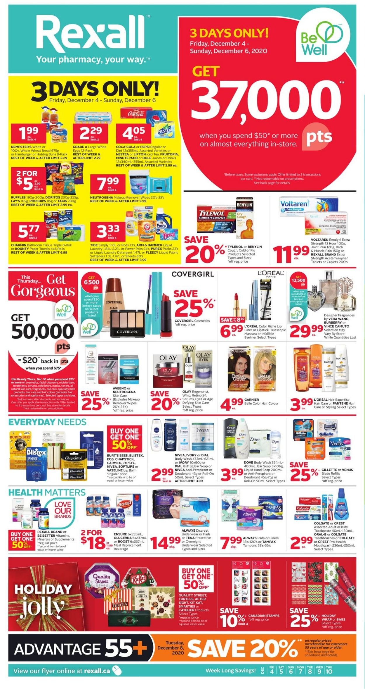 Rexall - Holiday 2020 Flyer - 12/04-12/10/2020