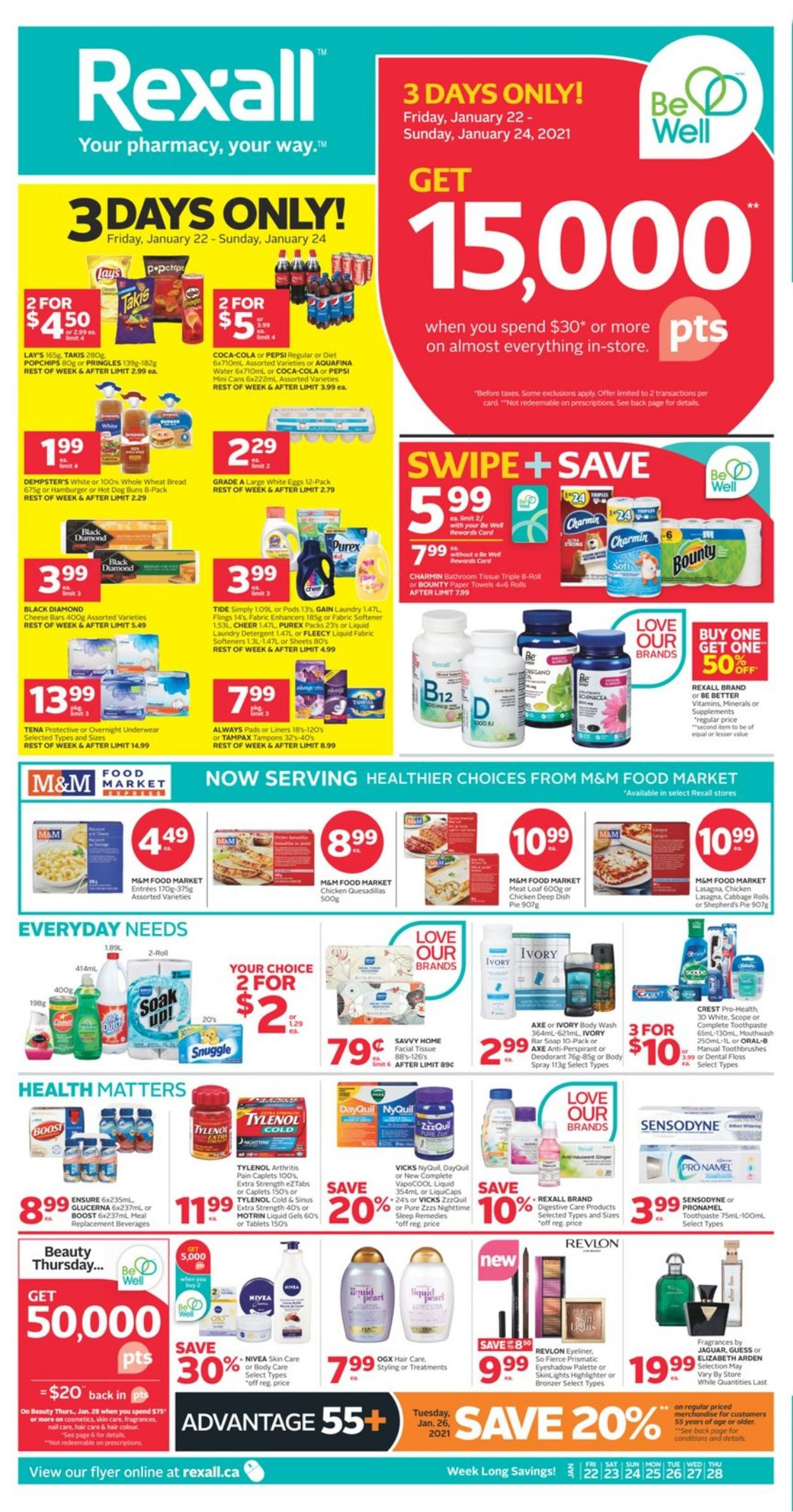 Rexall Flyer - 01/22-01/28/2021