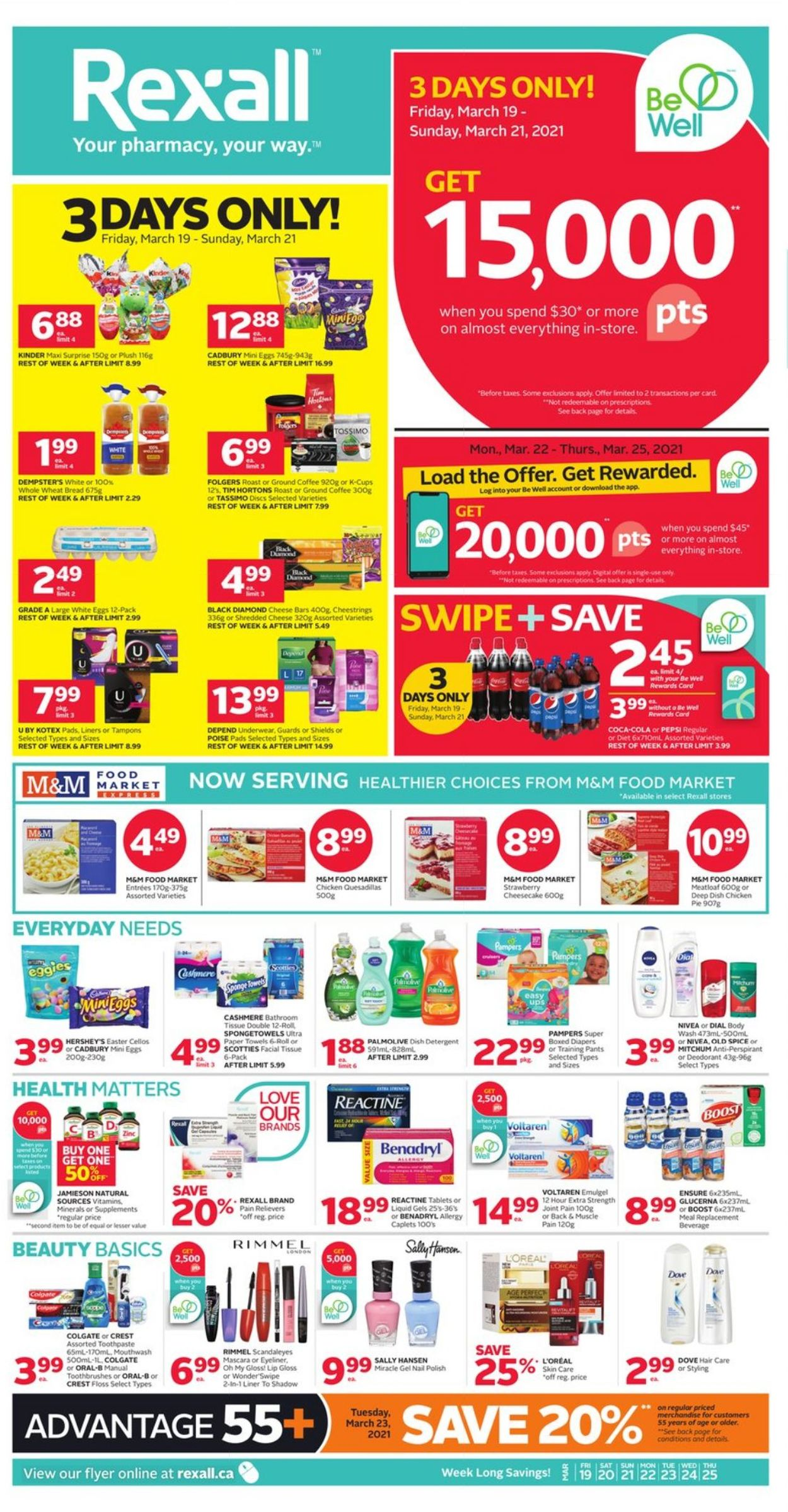 Rexall Flyer - 03/19-03/25/2021