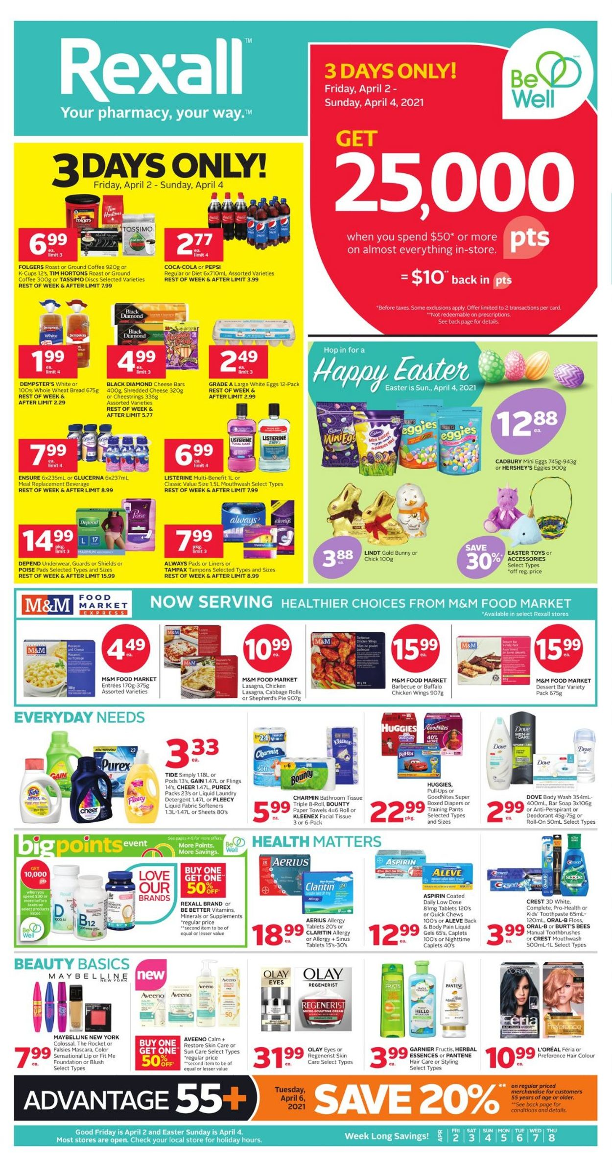 Rexall Flyer - 04/02-04/08/2021