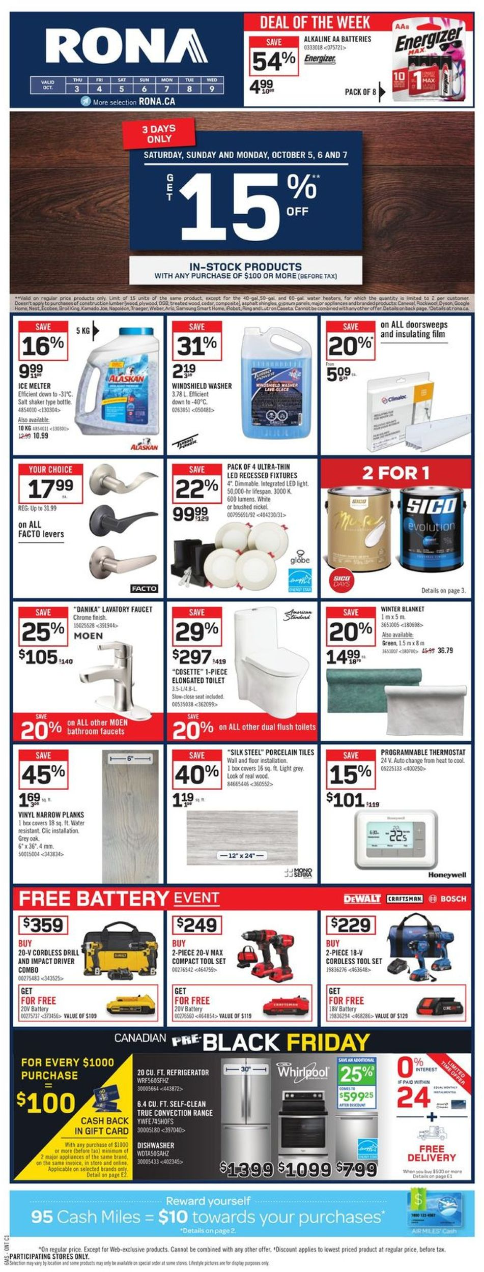 RONA Flyer - 10/03-10/09/2019 (Page 3)