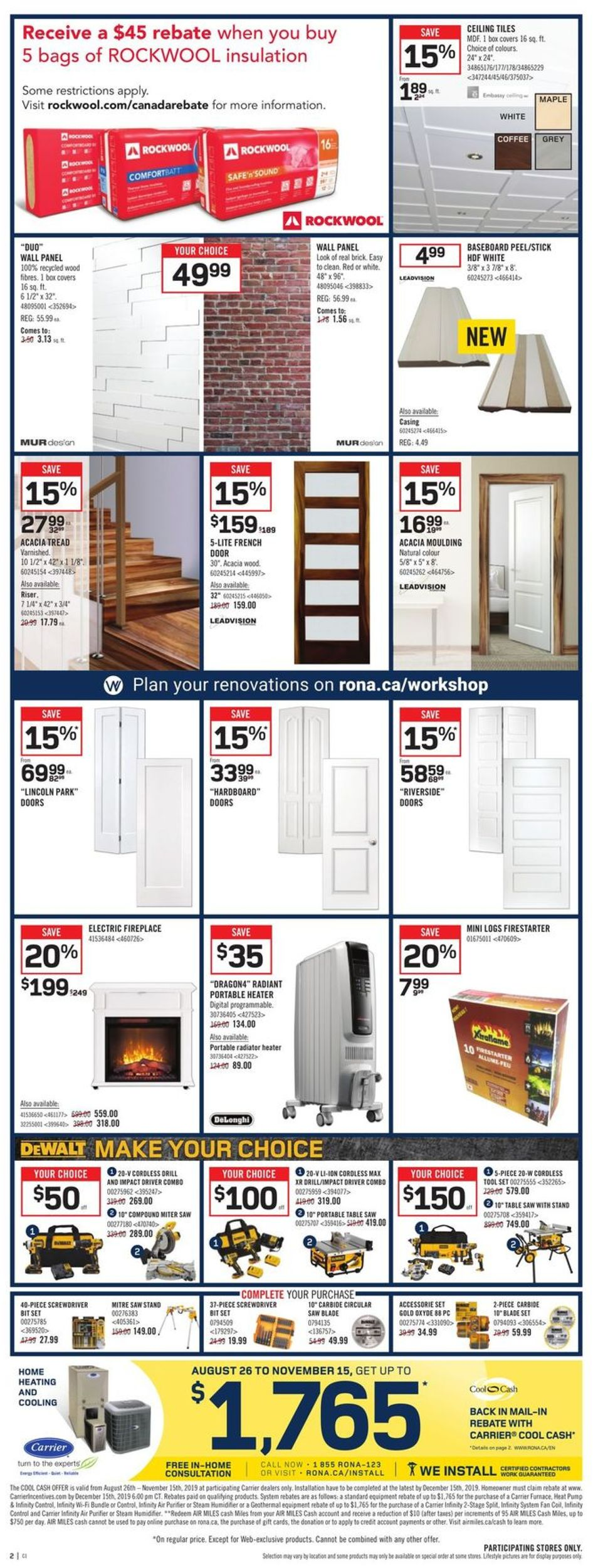 RONA Flyer - 10/03-10/09/2019 (Page 4)