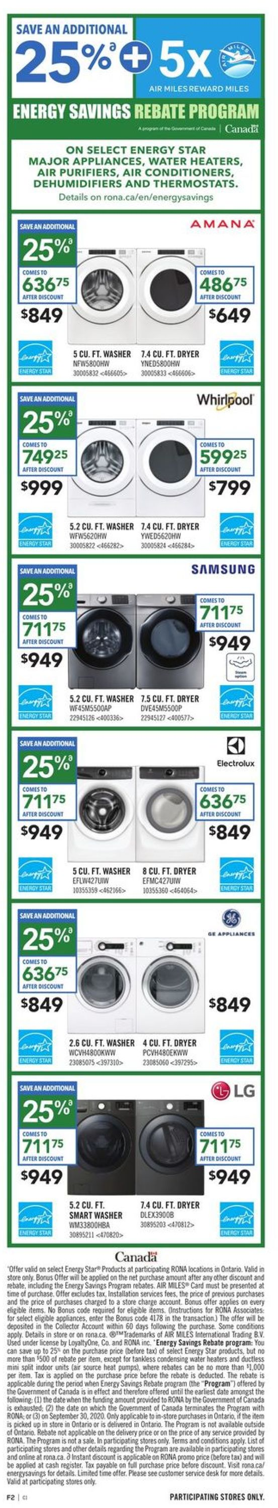 RONA Flyer - 01/02-01/08/2020 (Page 2)
