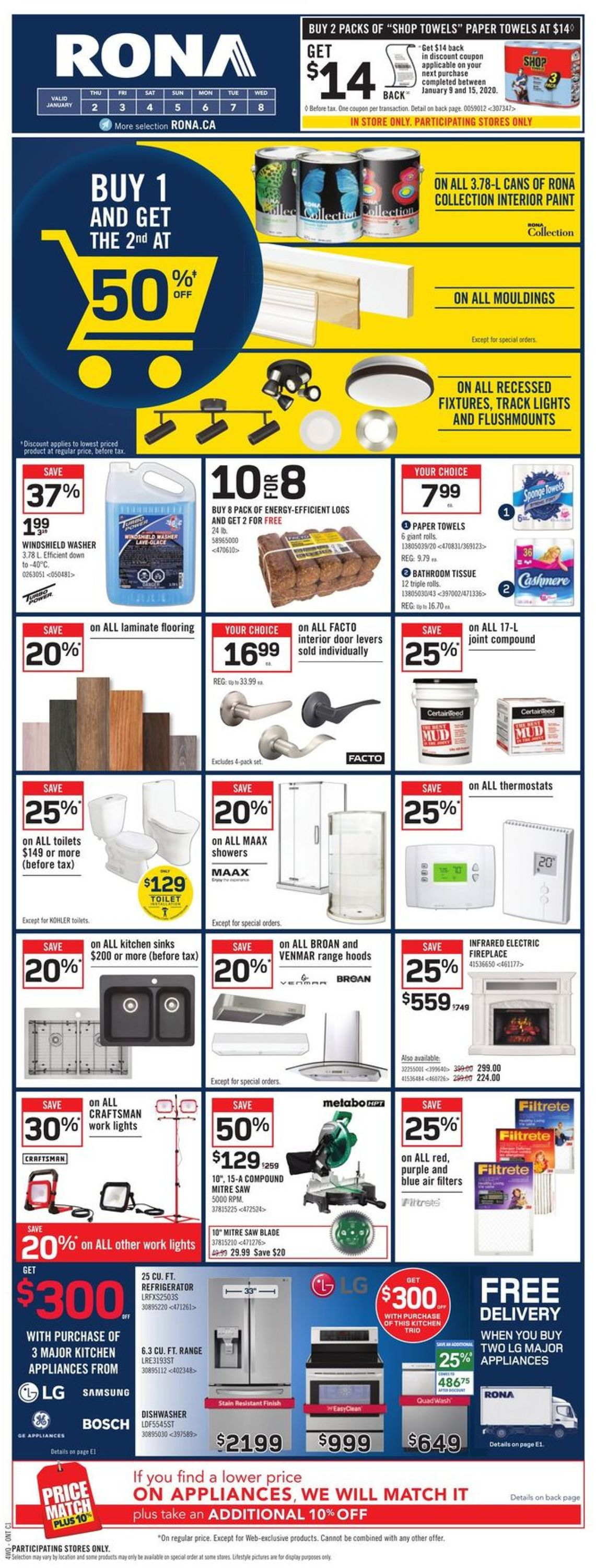 RONA Flyer - 01/02-01/08/2020 (Page 3)