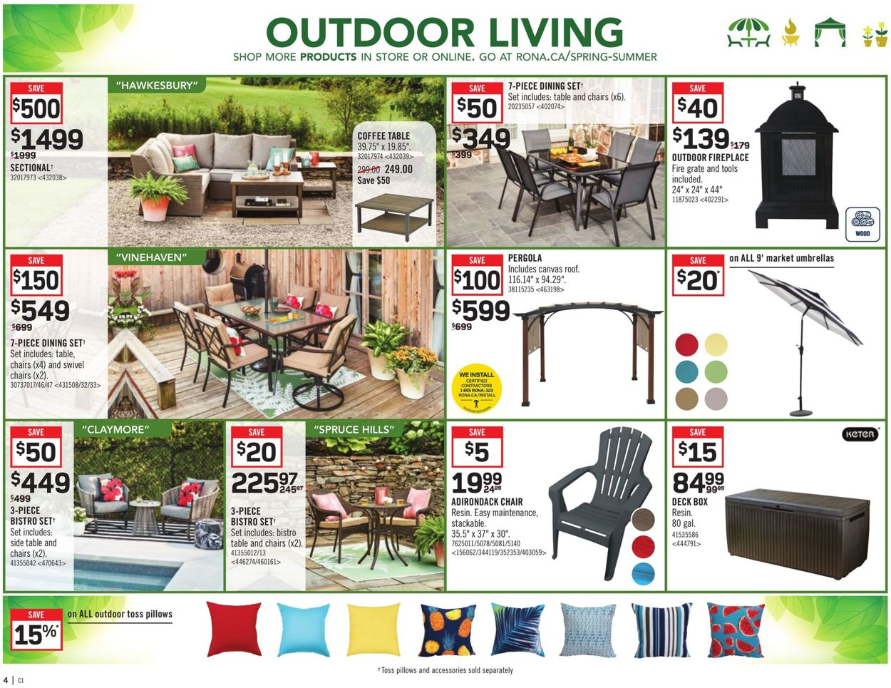 RONA Flyer - 03/19-03/25/2020 (Page 7)