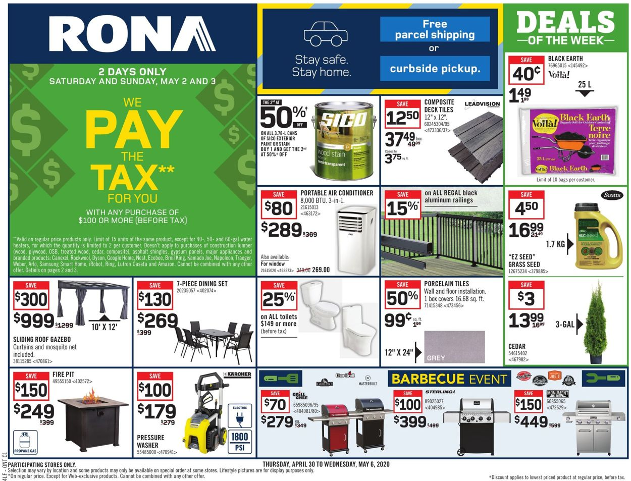 RONA Flyer - 04/30-05/06/2020