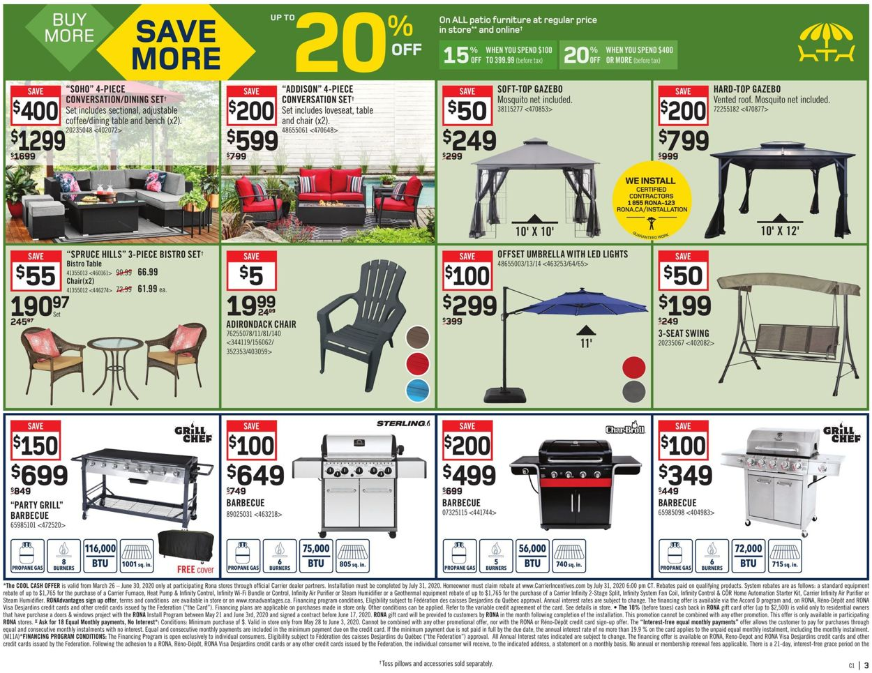 RONA Flyer - 05/28-06/03/2020 (Page 3)