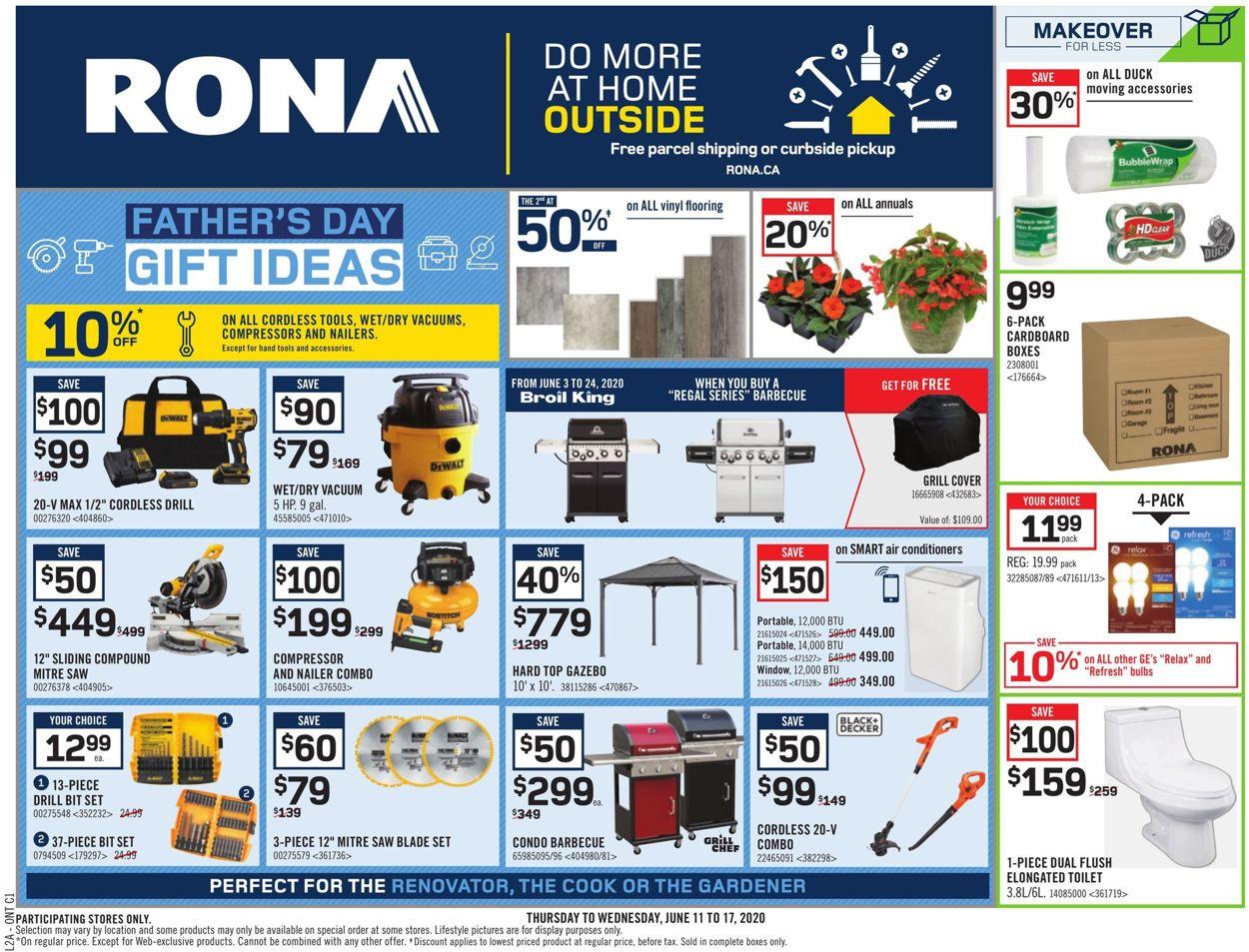 RONA Flyer - 06/11-06/17/2020