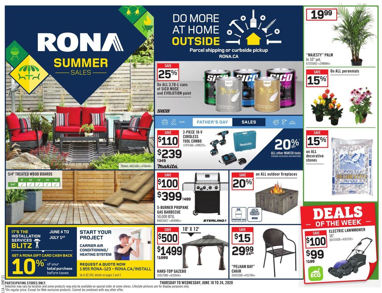 RONA Flyer - 06/18-06/24/2020