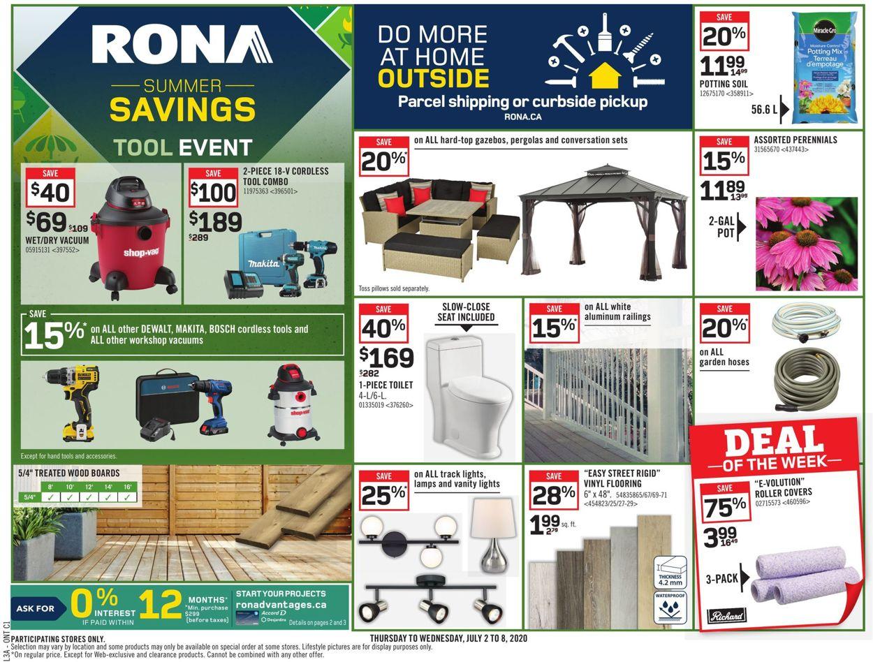 RONA Flyer - 07/02-07/08/2020