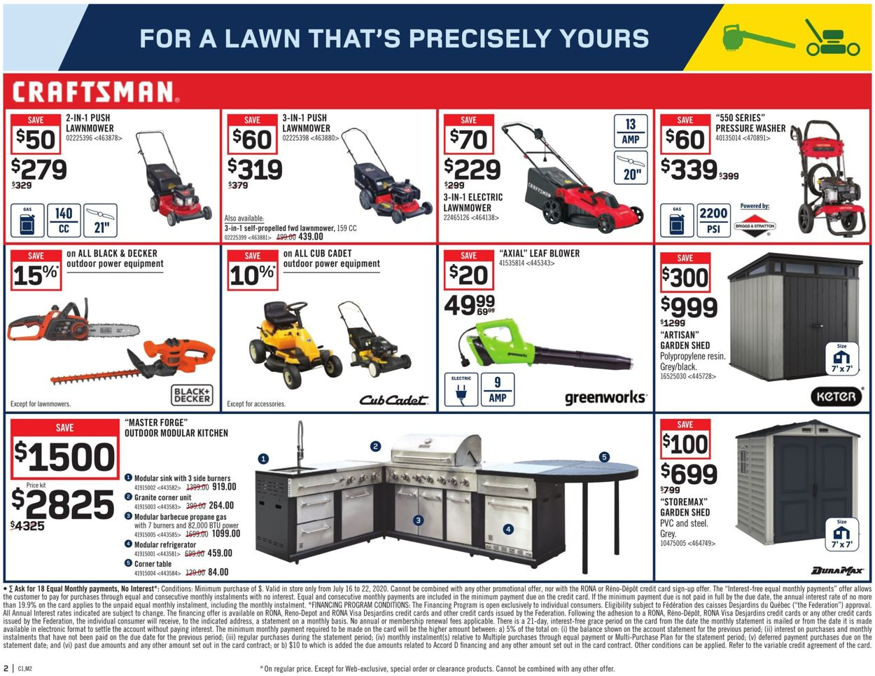 RONA Flyer - 07/16-07/22/2020 (Page 3)