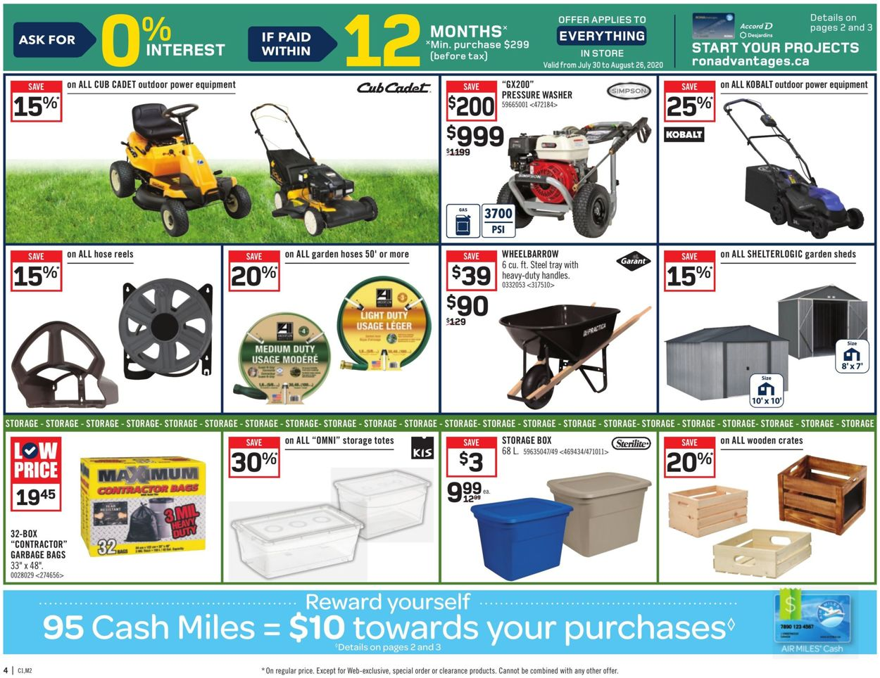 RONA Flyer - 07/30-08/05/2020 (Page 6)