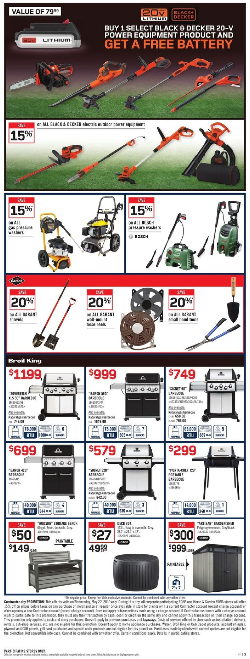 RONA Flyer - 05/16-05/22/2019 (Page 3)