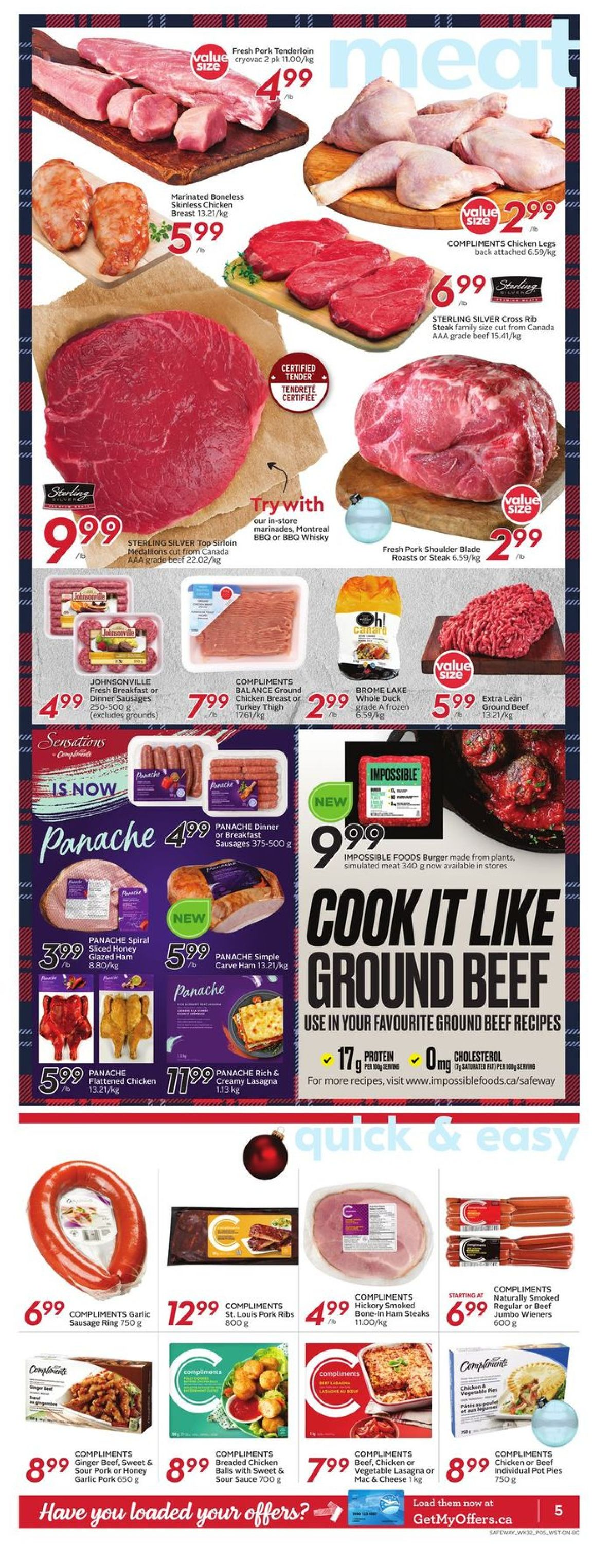 Safeway - Holiday 2020 Flyer - 12/03-12/09/2020 (Page 8)