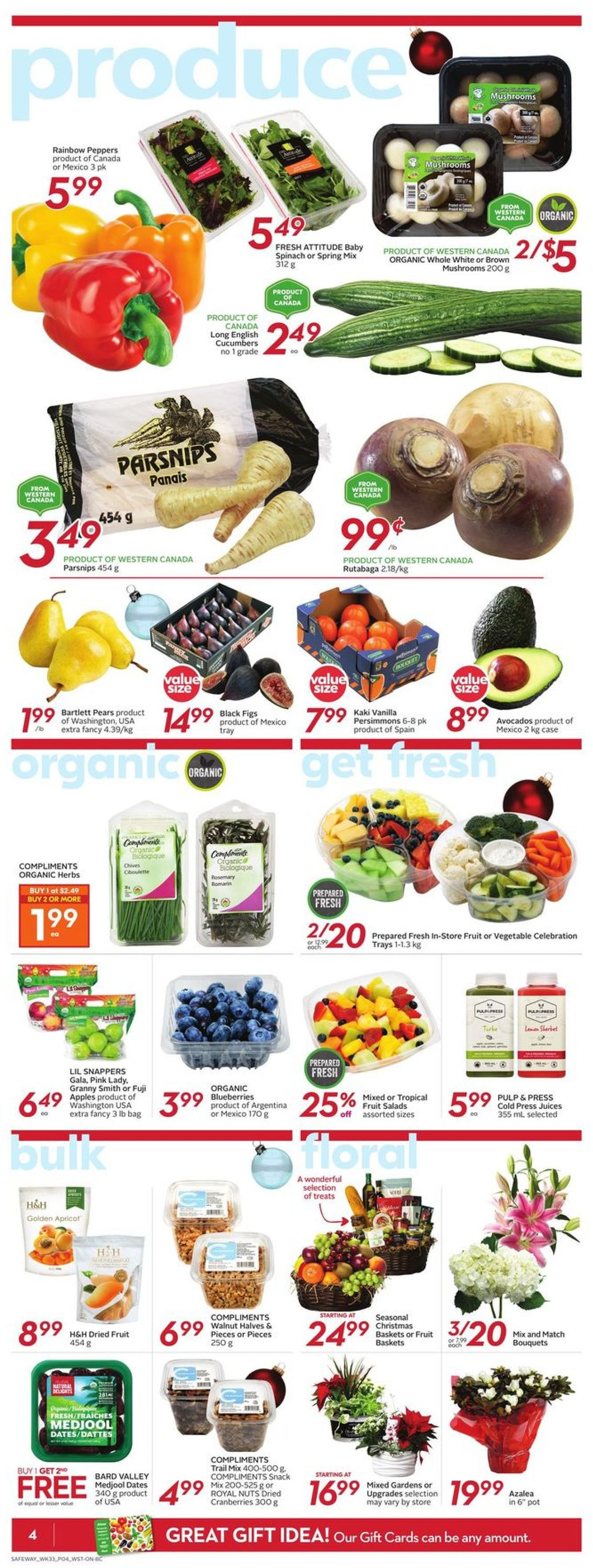 Safeway - Holiday 2020 Flyer - 12/10-12/16/2020 (Page 7)