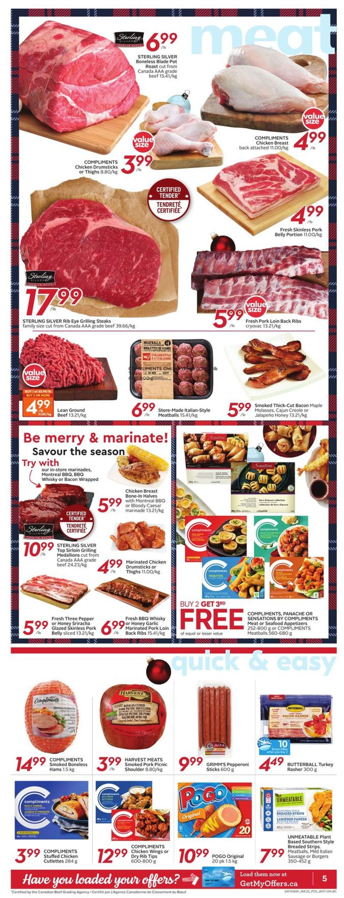 Safeway - Holiday 2020 Flyer - 12/10-12/16/2020 (Page 8)