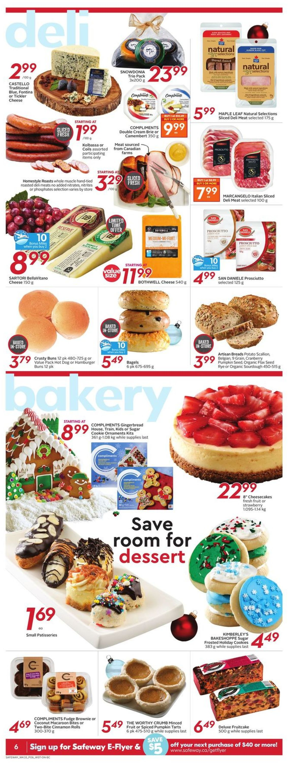 Safeway - Holiday 2020 Flyer - 12/10-12/16/2020 (Page 9)