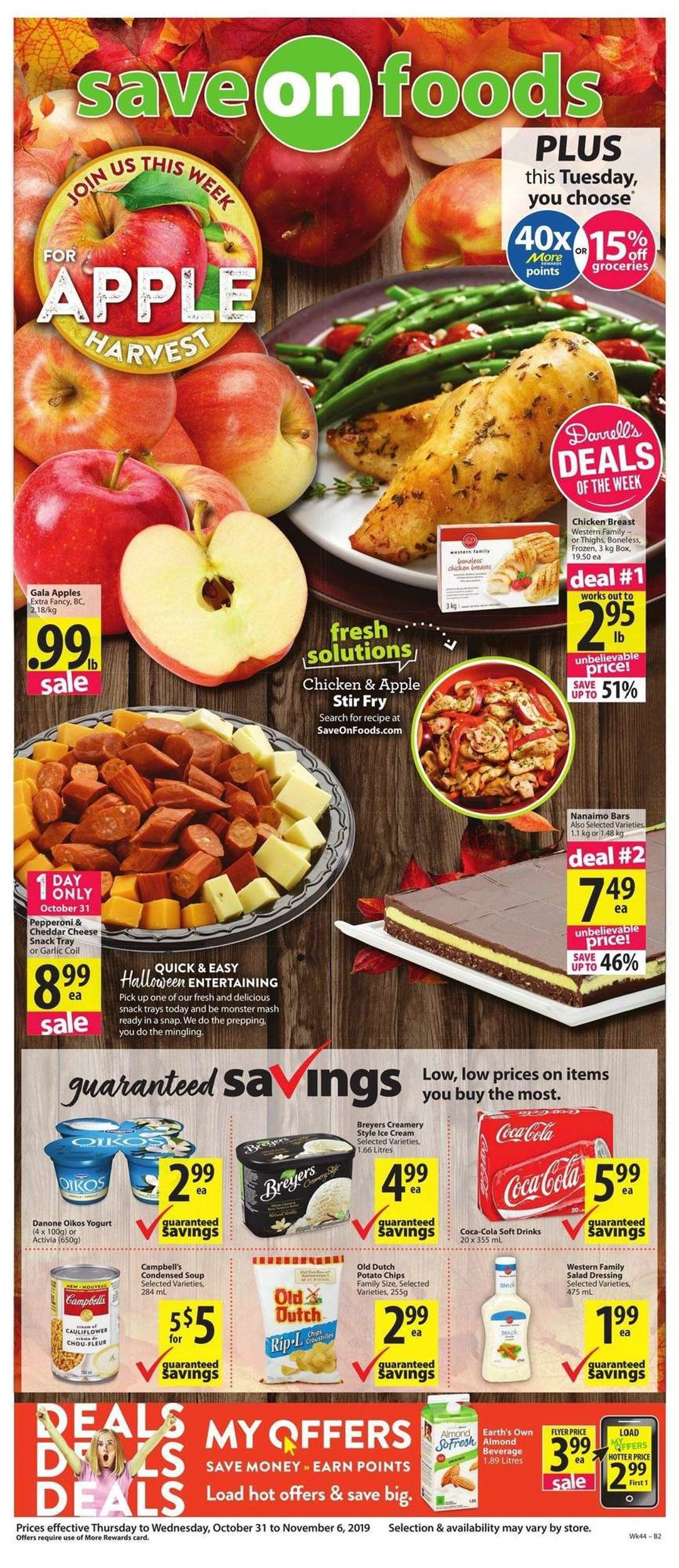 Save-On-Foods Flyer - 10/31-11/06/2019