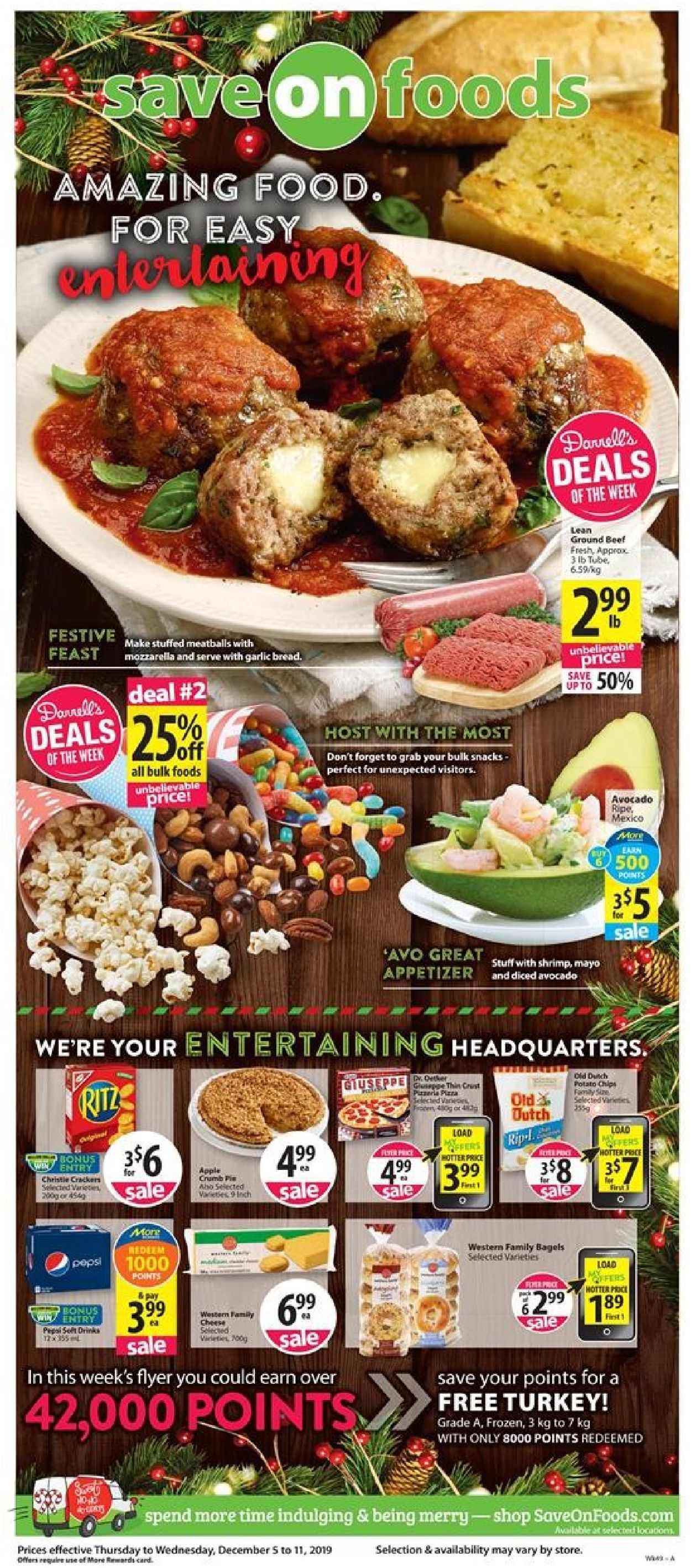 Save-On-Foods Flyer - 12/05-12/11/2019