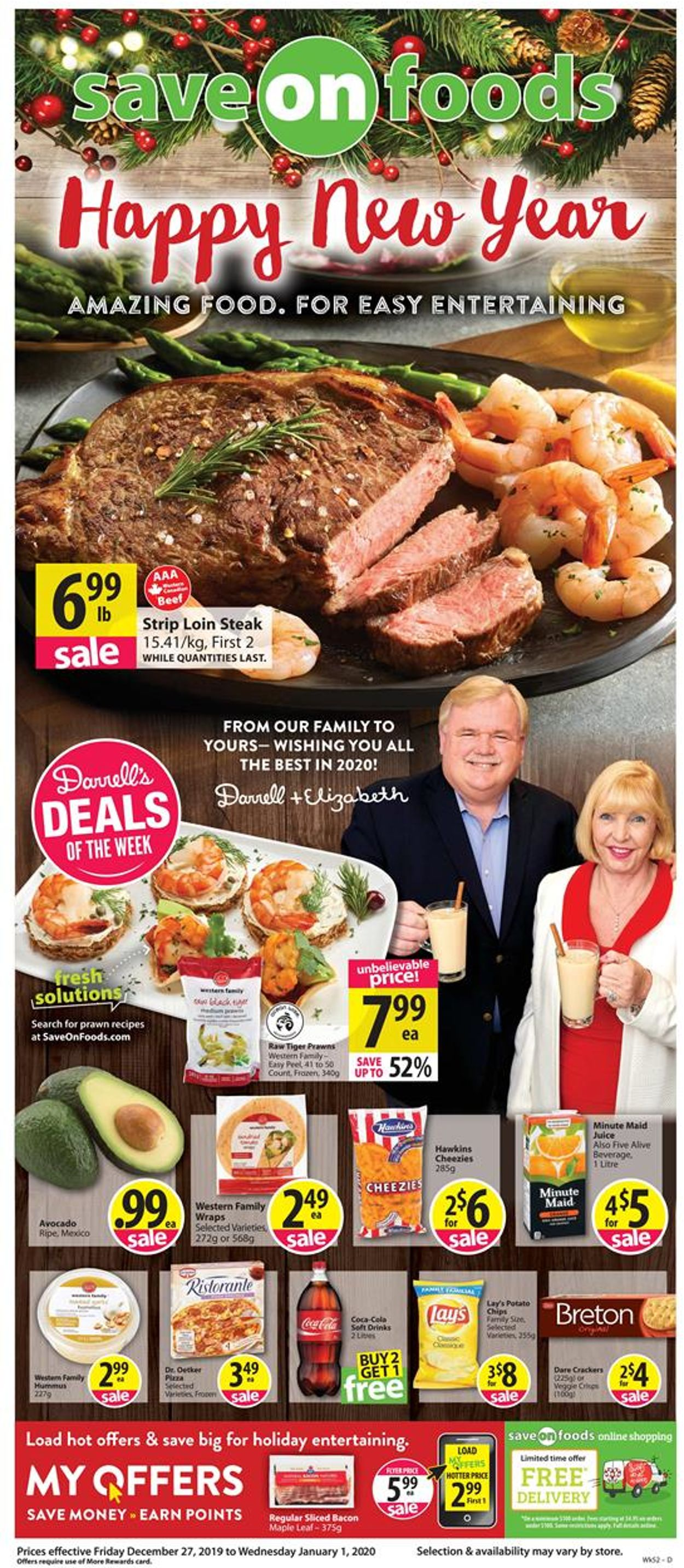 Save-On-Foods Flyer - 12/26-01/01/2020