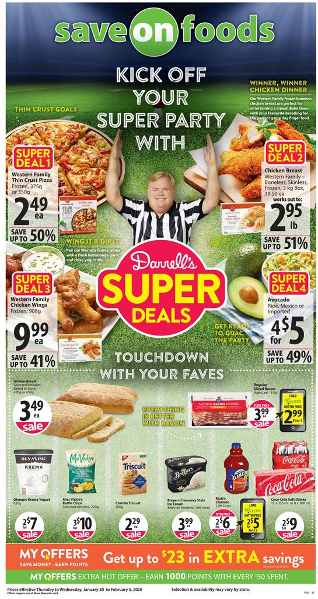Save-On-Foods Flyer - 01/30-02/05/2020
