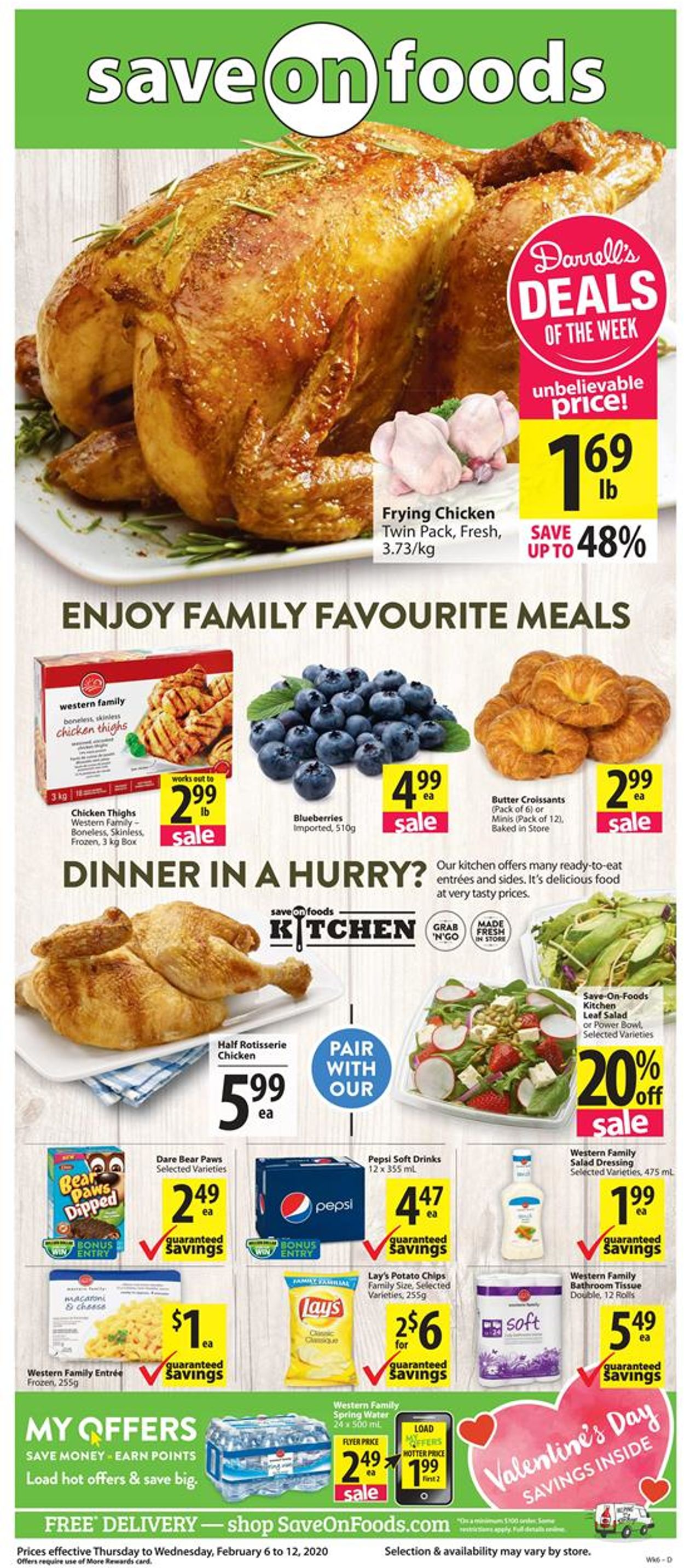 Save-On-Foods Flyer - 02/06-02/12/2020
