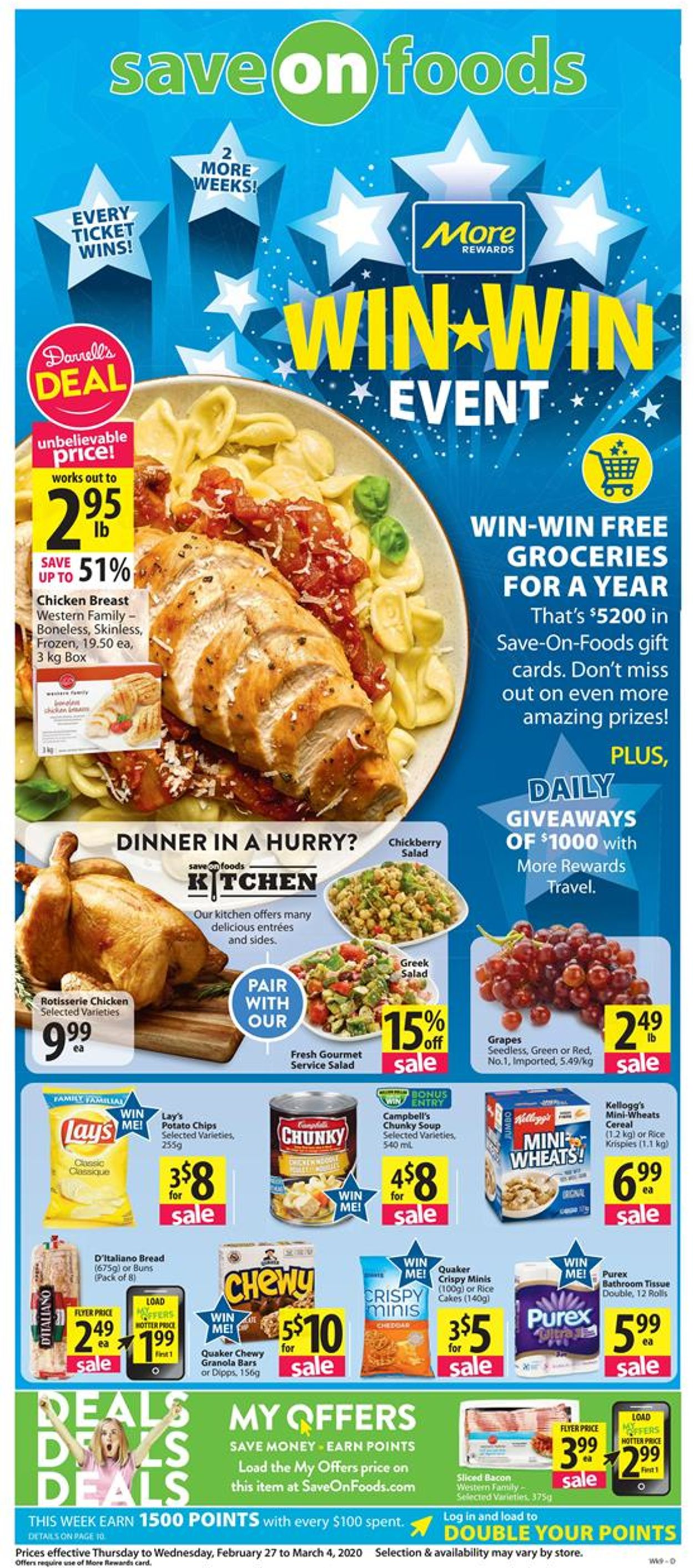 Save-On-Foods Flyer - 02/27-03/04/2020