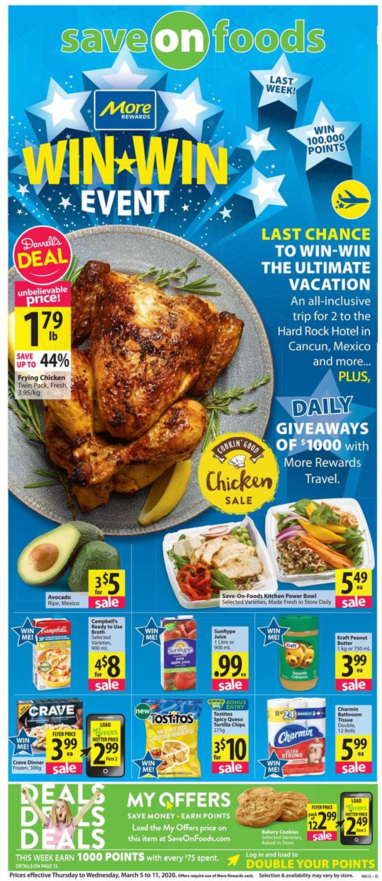 Save-On-Foods Flyer - 03/05-03/11/2020