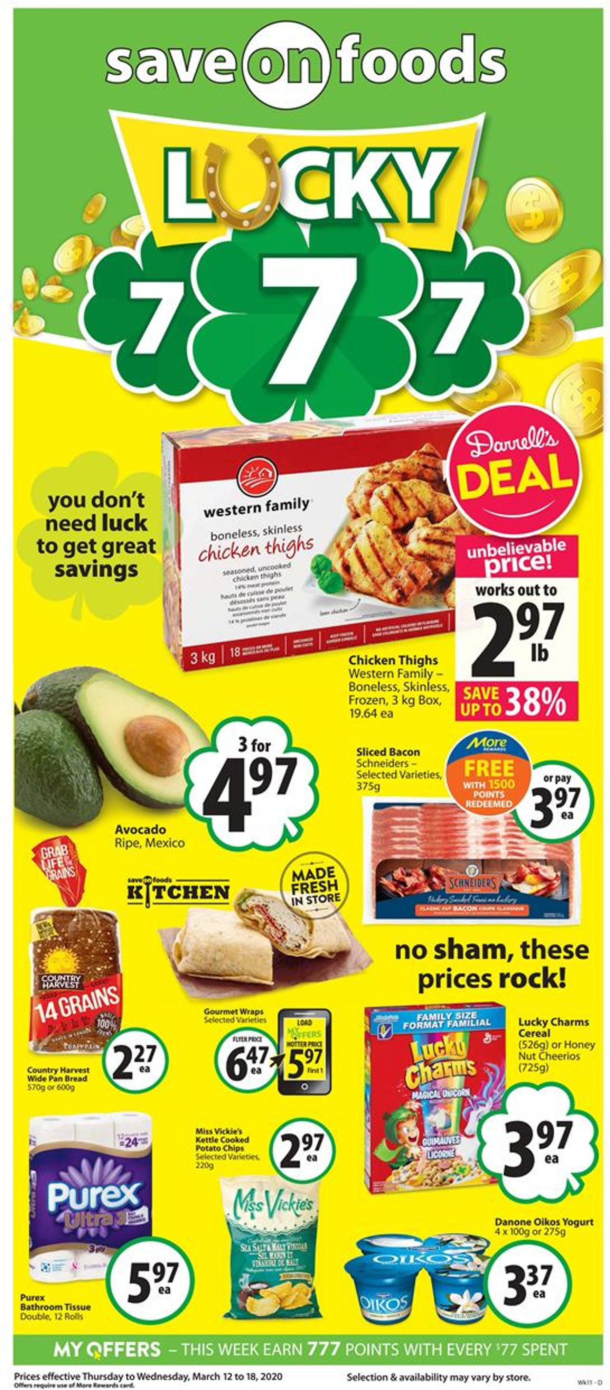Save-On-Foods Flyer - 03/12-03/18/2020