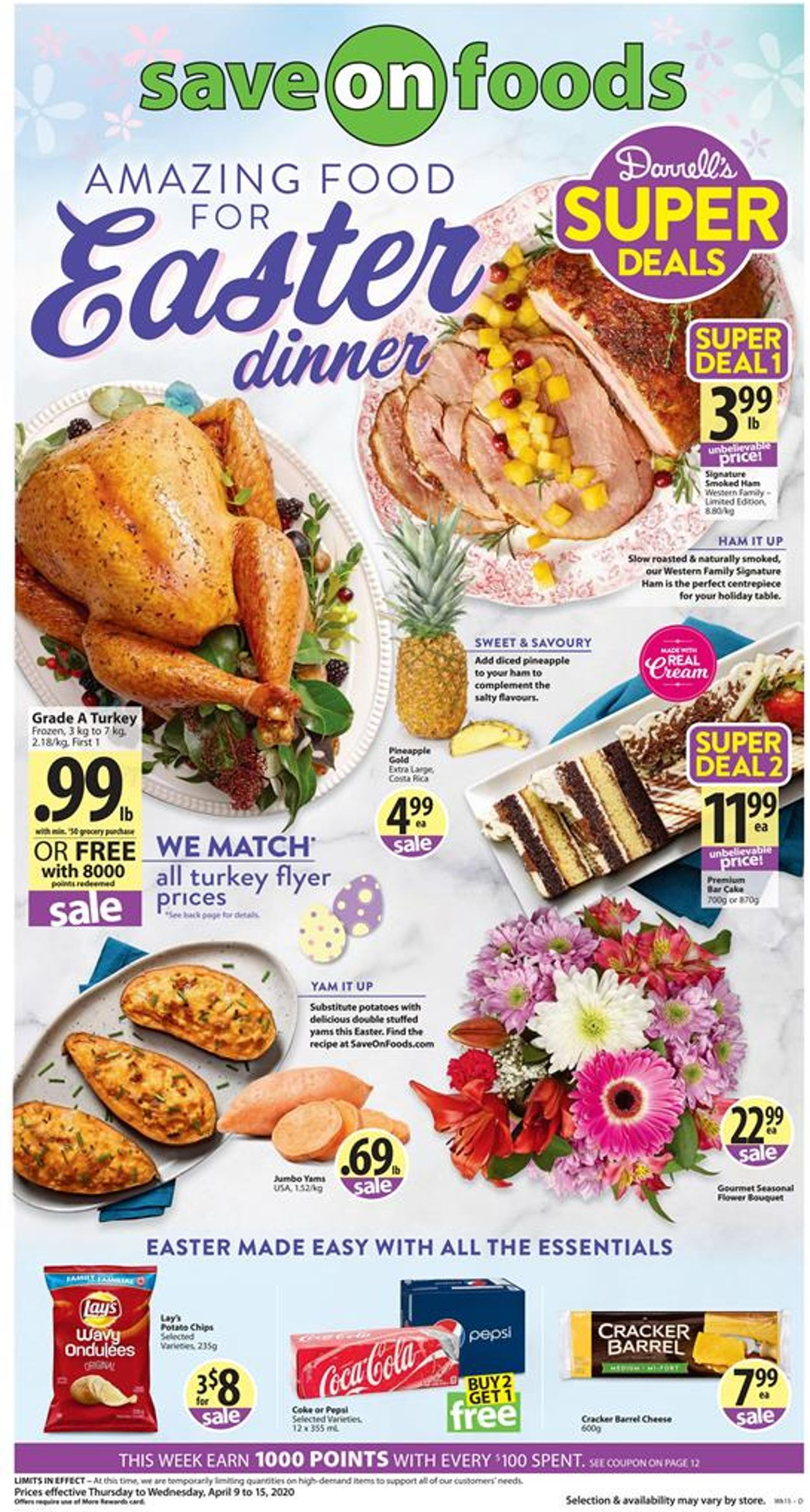 Save-On-Foods Flyer - 04/09-04/15/2020