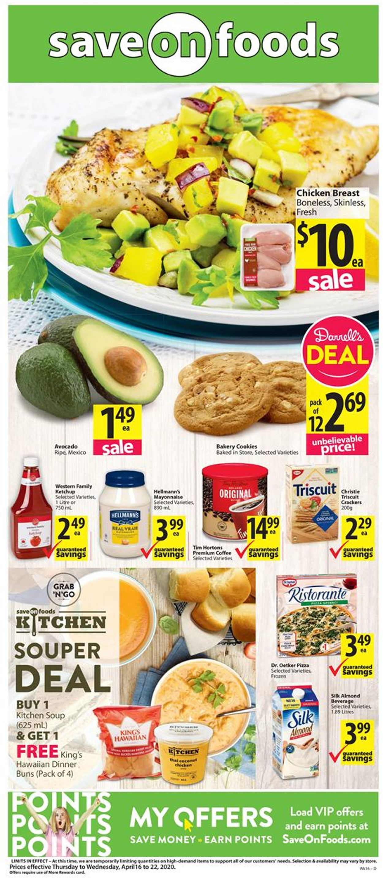 Save-On-Foods Flyer - 04/16-04/22/2020