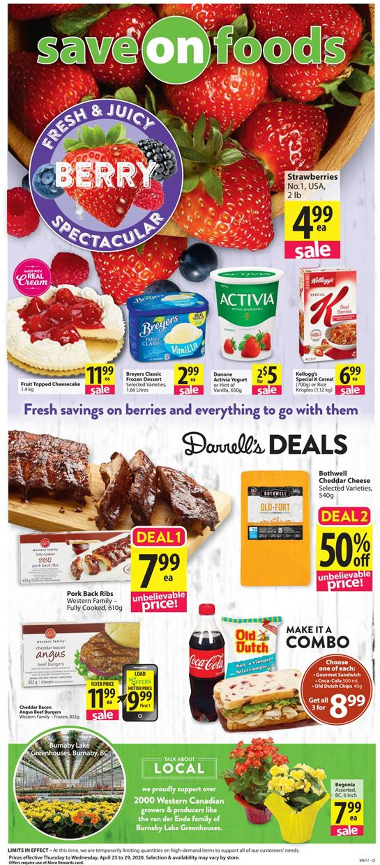 Save-On-Foods Flyer - 04/23-04/29/2020