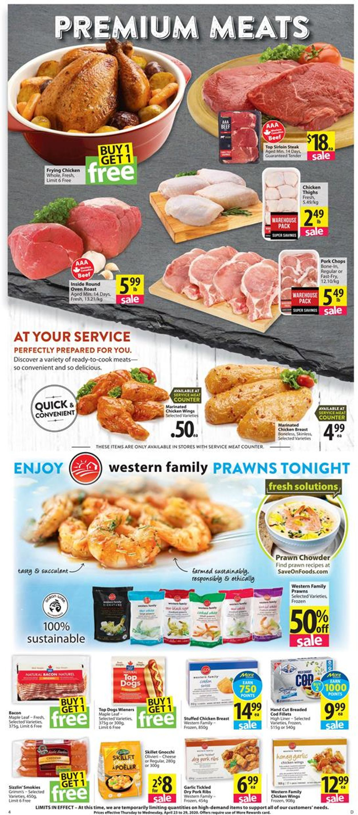 Save-On-Foods Flyer - 04/23-04/29/2020 (Page 4)