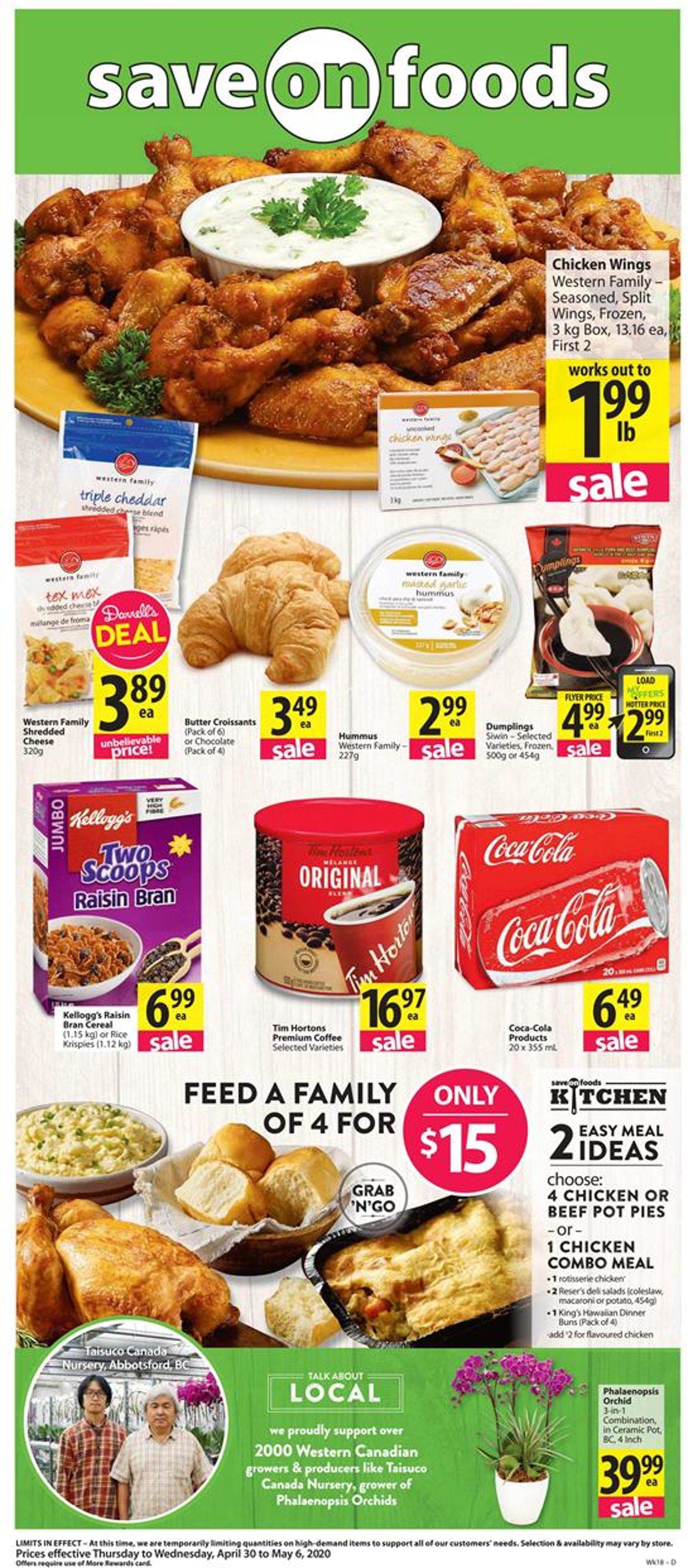 Save-On-Foods Flyer - 04/30-05/06/2020