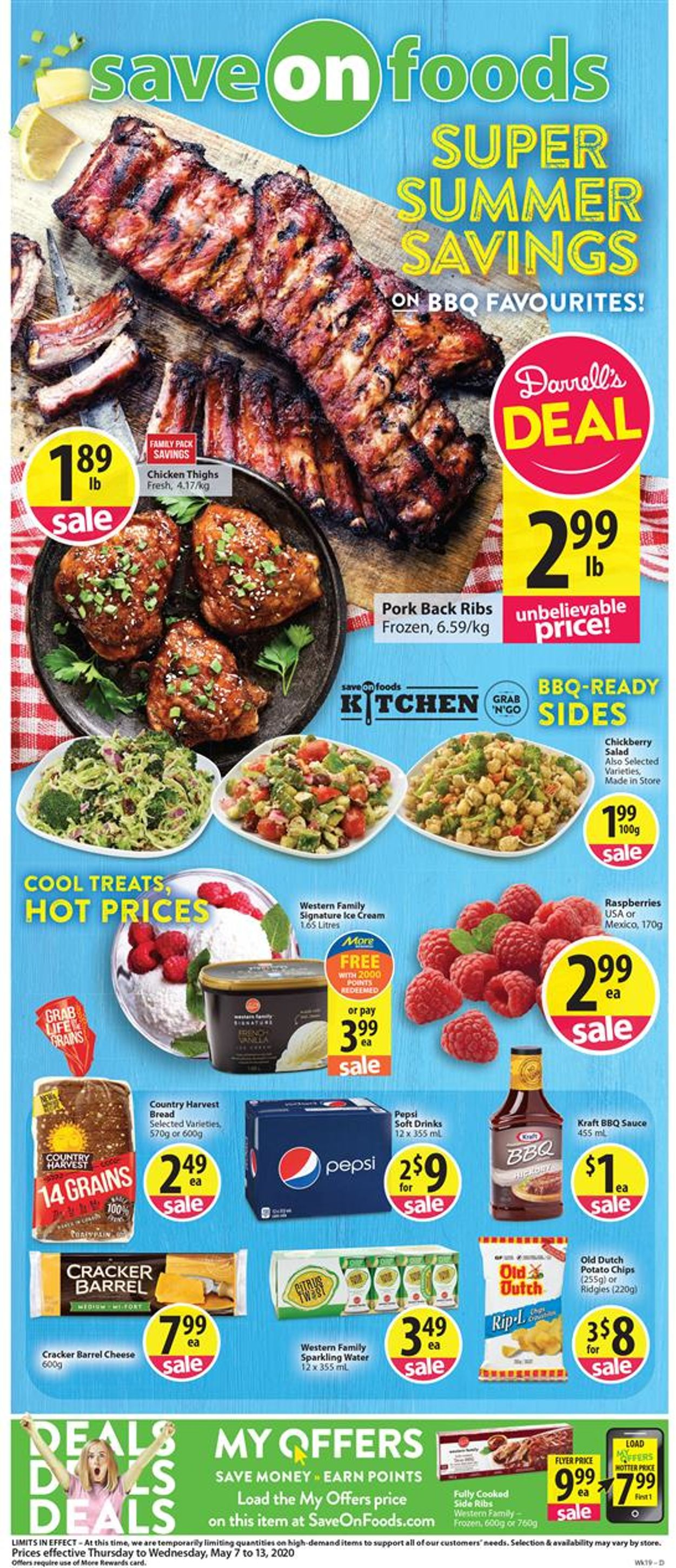 Save-On-Foods Flyer - 05/07-05/13/2020