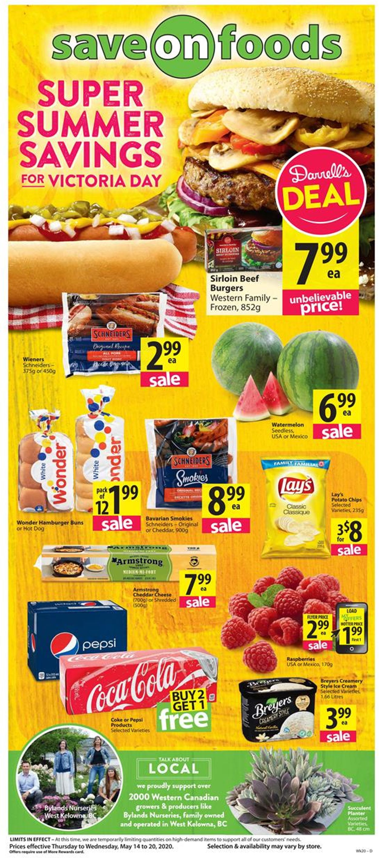 Save-On-Foods Flyer - 05/14-05/20/2020