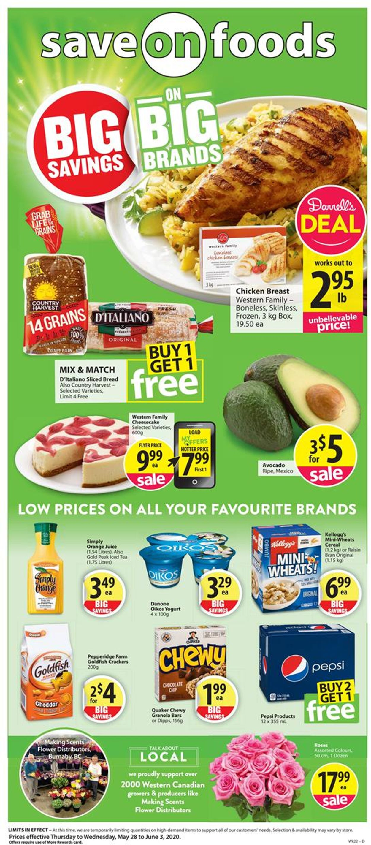 Save-On-Foods Flyer - 05/28-06/03/2020