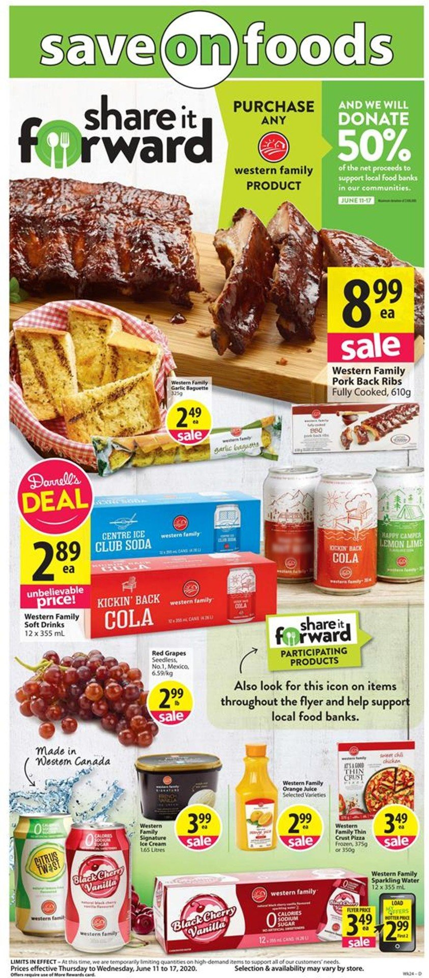 Save-On-Foods Flyer - 06/11-06/17/2020